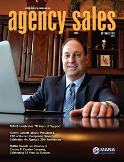 October 2017 Agency Sales magazine cover