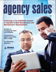 Agency Sales magazine cover