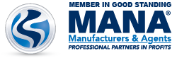Member in Good Standing: MANA: Manufacturers & Agents Professional Partners in Profits